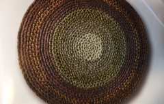 Braid a Wool Chair Pad
