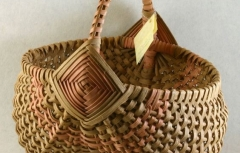 Weave a Ribbed Egg Basket