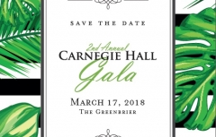 Second Annual Carnegie Hall Gala
